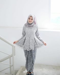 62 Ideas Modern Art Fashion Wedding Dresses For 2019 Model Kebaya Brokat Modern, Kebaya Modern Hijab, Kebaya Hijab, Kebaya Muslim, Hijab Dress, Kebaya Peplum, Kebaya Lace, Casual Hijab Outfit, Hijab Chic