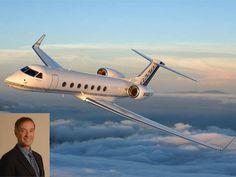 Eike Batista e seu avião