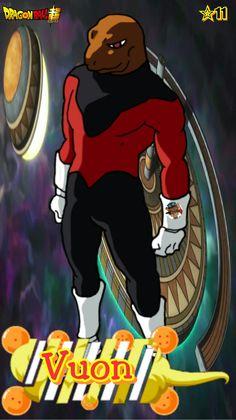 Vuon- Team Universe 11. Dragon ball super