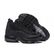big sale 04a0e 33dc4 Nike Air Max Mens, Air Max 95, Air Max Sneakers, All Black Sneakers