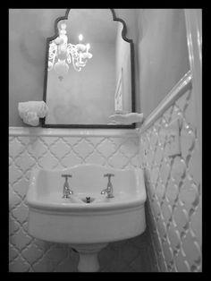 Beveled Arabesque- White Tile- Backsplash Tile- Kitchen Tile | Mosaic Tile & Stone