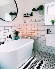 Modern Bathroom Inspiration // We are Trouva