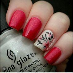 cherry blossom #nailed #nailart #nails #kimiko7878