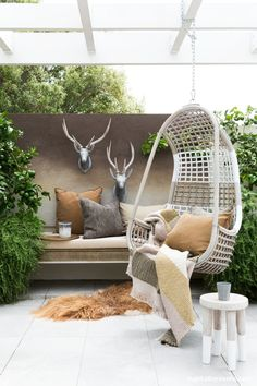 The deck is a great place to start when creating a sublime outdoor living space. We turned this one into a quiet reading corner as an area to relax... with a...