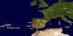Trasování letecké cesty