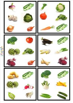 Jitka Krausová - Liste E-Mail Ratatouille, Visual Perception Activities, English Activities For Kids, Thumbprint Cookies Recipe, Montessori Materials, Order Food, Fruits And Vegetables, Healthy Recipes, Centre