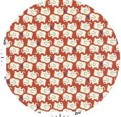 Ellie Love Poppy: 100% Cotton, lightweight canvas
