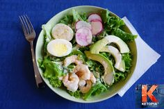 COMPOSED SALAD WITH SPICY BUTTERMILK DRESSING This salad is filling ...