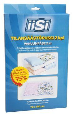 IISI Tilansäästöpussi 70x100 cm 2 kpl 3.49e