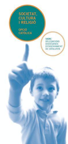 """Fulletó """"Societat, cultura i religió"""". Delegacions diocesanes d'ensenyament, 2004.  #design #religion #education"""