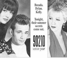 Because back then, what girl wasn't completely immersed in the Brenda/Dylan/Kelly storyline?! Haha