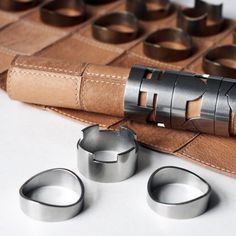 Leather Chess Set by rawstudio https://fancy.com/things/1026622094680525433/Leather-Chess-Set-by-rawstudio?ref=Inspirationfeed