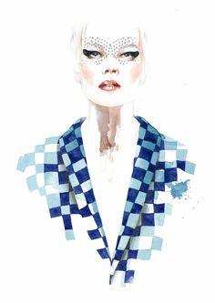 António Soares Fashion Illustrations   Trendland: Fashion Blog & Trend Magazine