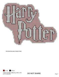 Harry Potter Plastic Canvas Ornaments, Plastic Canvas Crafts, Plastic Canvas Patterns, Harry Potter Clip Art, Harry Potter Knit, Cross Stitch Floss, Cross Stitch Patterns, Cross Stitching, Cross Stitch Embroidery