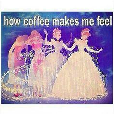 Wunderschönen #Mittwoch gewünscht ♡ #happyday #thinkpink #thinkpositive #positivemind #coffee #goodmorning #GutenMorgen #cinderella #disney #fun #lovecoffee #love