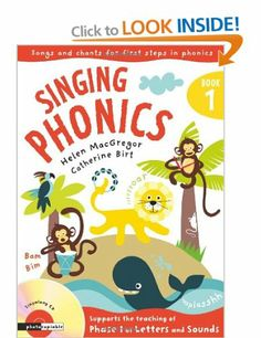 Singing Phonics - Other - 9781408104729 Phase 1 Phonics, Early Years Teacher, Phonics Programs, Phonics Books, Preschool Literacy, Book People, Mark Making, Singing