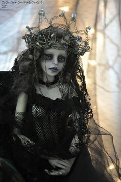 Haunted Ball Jointed Doll BJD by *SutherlandArt on deviantART