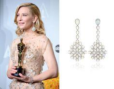 Cate Blanchette 2014 Oscar Jewelry