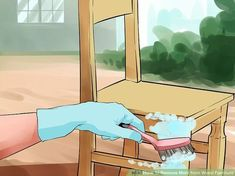 Image titled Remove Mold from Wood Furniture Step 6 #cleaningwoodfurniturehowtoremovetips