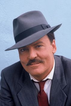 turns 76 today - he was born in 1941 Famous Men, Famous Faces, Famous People, Olivia De Havilland, Los Primates, Stacy Keach, Tv Icon, Detective, Hollywood Actor