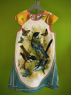 Dress - vintage fabric by Mirjam of Kinchimama