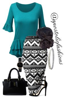 """Apostolic Fashions #1728"" by apostolicfashions on Polyvore featuring WithChic, Liliana, Freedom To Exist, Charlotte Russe and Lipsy"