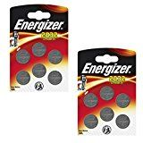 #9: 12 x Energizer CR2032 Coin Lithium 3V Battery Batteries for Watches Torches Keys #movers #shakers #amazon #electronics #photo