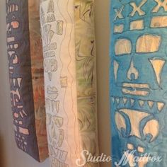 reverse applique totems