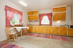 Skiptvedt Credenza, Valance Curtains, Norway, Kitchens, Cabinet, Storage, Furniture, Home Decor, Clothes Stand