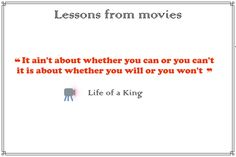#Can & #will #life of a #king #movie #life_of_a_king #movie_quotes Movie Quotes, King, Canning, Movies, Movie Posters, Film Quotes, Films, Film Poster, Cinema