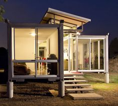 Container cabins price container home architect,container home designs for sale container house price,containers for sale price how big is a shipping container. Cargo Container Homes, Shipping Container Home Designs, Building A Container Home, Container Buildings, Container Architecture, Container House Design, Architecture Design, Shipping Containers, Shipping Container Interior