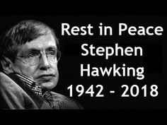 Rest In peace Stephen Hawking, you been a lighthouse for the whole world Important People, Good People, Candle In The Dark, Historia Universal, Thanks For The Memories, Physicist, Stephen Hawking, Rest In Peace, British History
