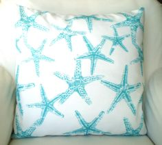 OUTDOOR Nautical Throw Pillow Covers Cushions by fabricjunkie1640