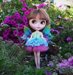 Blythe doll fairy - photo by Debby Emerson