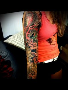 Japanese Tattoo - That's one heck of a sleeve! ~DT