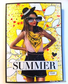 Fun card by Sannie for the Simon Says Stamp Monday challenge (Summer)