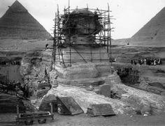Giza Sphinx 1952