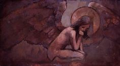 ''Figurative artist J. Kirk Richards is becoming increasingly known for his accomplishments as a painter of Judeo-Christia. Love Frequency, Christian Artwork, Lds Art, Angels And Demons, Angel Art, Religious Art, Figure Painting, Fine Art, Figurative