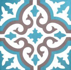Kitchen bathroom Tile Decals Vinyl Sticker : by SnazzyDecal Tile Art, Wall Tiles, Cement Tiles, Tile Decals, Vinyl Decals, Tile Patterns, Adhesive Vinyl, Tile Design, Islamic Art