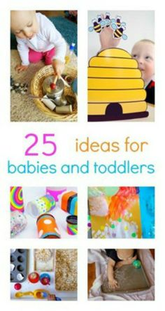 Great Activities for Kids Ages Zero to Two