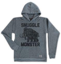 Snuggle Monster hoody