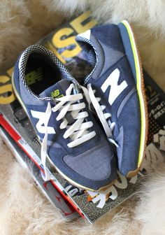 Sneaker Love... New Balance 420 tomboy