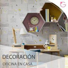 #Decoración y Hogar Un Archivador y cajas modernas y bonitas, son complementos perfectos para ordenar y decorar la oficina de tu casa