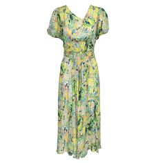 Vintage 30s Pastel Watercolor Floral Dress – THE WAY WE WORE