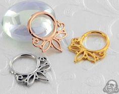 Flourish Seamless Septum Ring Body Mods, Flourish, Art Forms, Gauges, Body Jewelry, Septum Ring, Body Art, Piercings, Bronze
