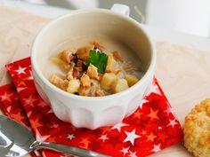 Lighter New England Clam Chowder, A Family Recipe - Sarah's Cucina Bella