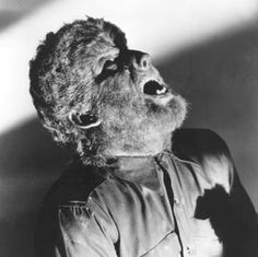 The Wolfman.Lon Chaney Jr, in the 1941 horror classic! Classic Monster Movies, Classic Horror Movies, Classic Monsters, Scary Monsters, Famous Monsters, Monsters Ink, Horror Icons, Horror Films, Scary Movies