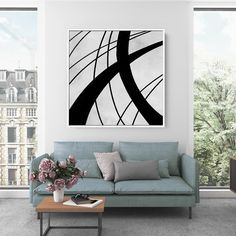 Items similar to Contemporary Wall Art - Abstract Painting on Canvas, Original Oversize Painting, Extra Large Wall Art on Etsy Large Abstract Wall Art, Large Canvas Art, Colorful Wall Art, Large Painting, Office Wall Decor, Modern Wall Decor, Home Decor Wall Art, Oversized Canvas Art, Dining Room Wall Art