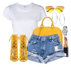 Untitled #1090 by lanizzleeee on Polyvore featuring RE/DONE, Liliana, Louis Vuitton and Michael Kors