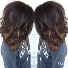 Dark Brown Hair With Subtle Chocolate Highlights #braidhair